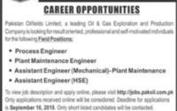 Pakistan Oilfields Limited Career Opportunities