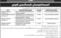 NADRA Vacancies available