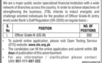 Zarai Taraqiati Bank Career Opportunities
