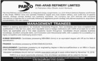 PARCO Management Trainee Program