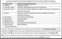 University of Wah UOW Jobs