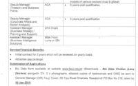PO Box 216 Finance Division Jobs Fauji Foundation