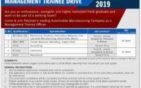Pak Suzuki Management Trainee Program 2018