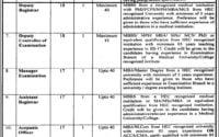 Rawalpindi Medical University RMU Jobs 2019