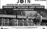 Army Latest Jobs 2019 www joinpakarmy gov pk Online Registration