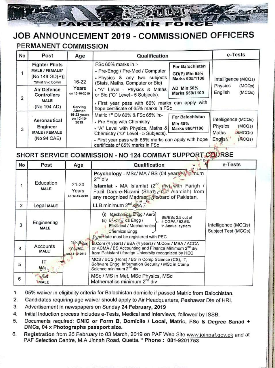 PAF Jobs Archives - Filectory