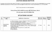 Pakistan Aeronautical Complex PAC Kamra Jobs 2019 Aviation Design Institute 1