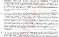 MES Public School & College MPSAC Rawalpindi Jobs 2019 Section Head